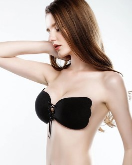"""""""Invisible"""" Strapless Enhanced Cleavage Bra 4 Colors 3 Cups Size"""