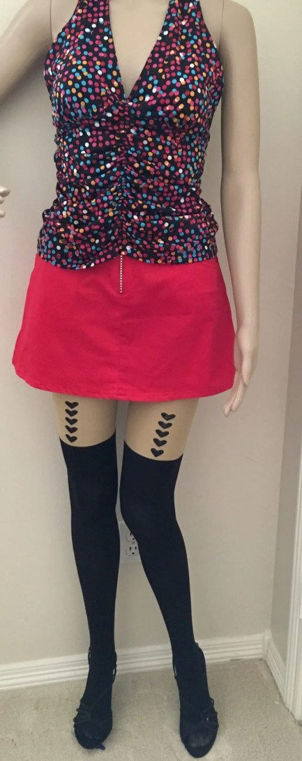 Pantyhose With Boot Look, Stars-Hearts-Devil-Cat-Hosiery
