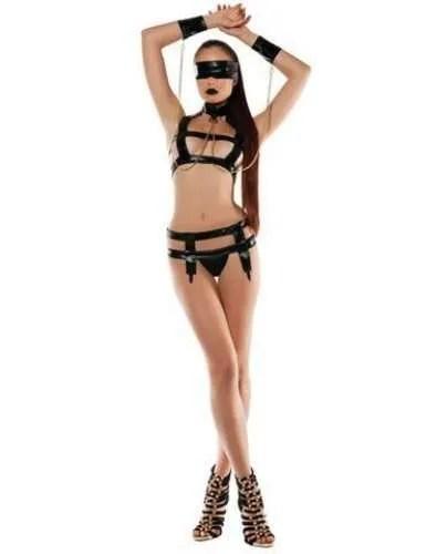 6 pc female bondage outfit
