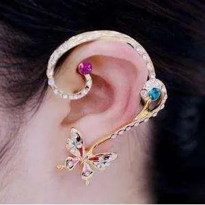 Bohemia Butterfly Stud Earrings
