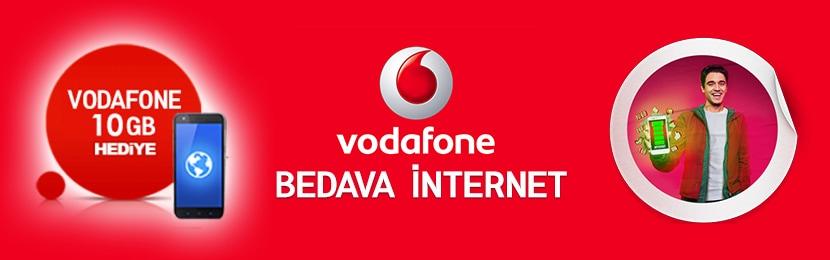Vodafone Bedava İnternet 2019 Kazan