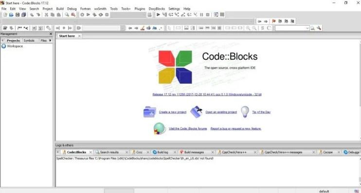 Introduction to C Programming - Launch CodeBlocks