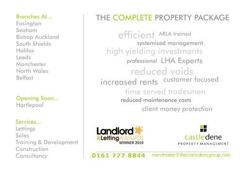 Professional Property Management in Manchester