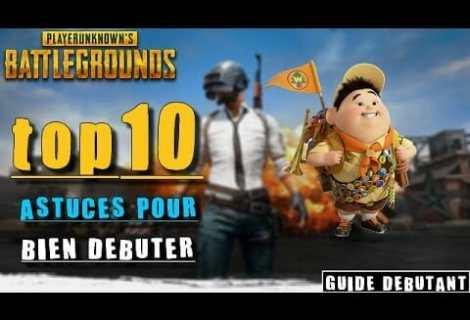 PLAYERUNKNOWN'S BATTLEGROUNDS - Guide pour les débutants (top 10 astuces)