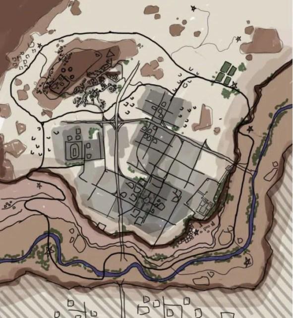 Croquis nouvelle map pubg