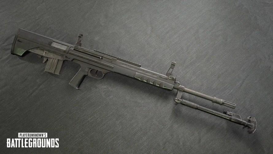 Le QBU est un nouveau DMR de 5,56 mm provenant exclusivement de Sanhok. Il dispose d'un bipied, ce qui réduit considérablement le recul lors de la prise de vue de l'état enclin. L'UBU remplace le Mini14 sur Sanhok.