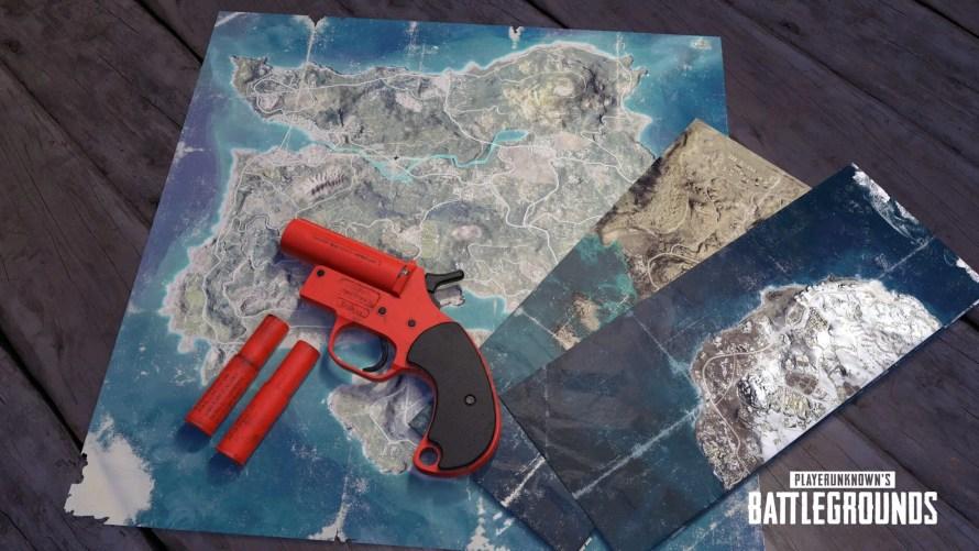Le pistolet de détresse, qui était jusque-là utilisable dans les parties personnalisées, est désormais disponible pour les parties publiques.