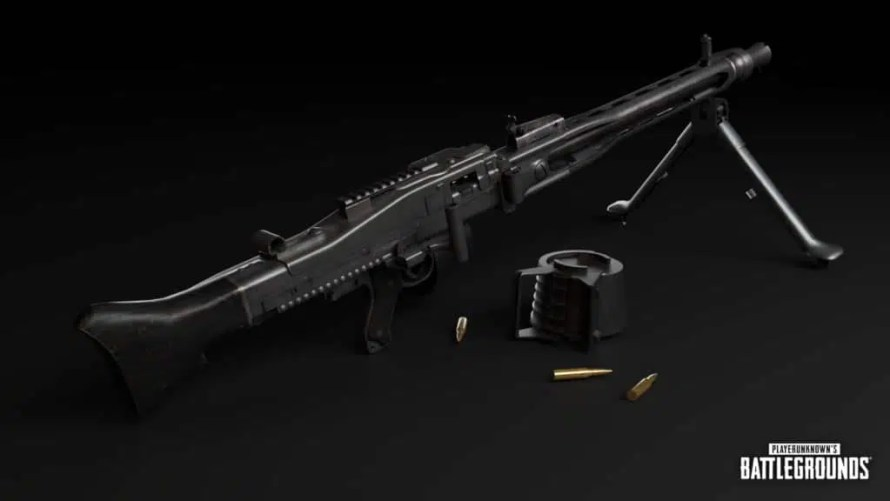 MG3-Weapon_pubg patch 8.3