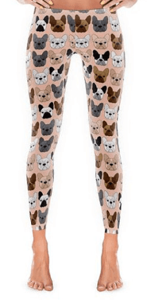 French Bulldog Leggings