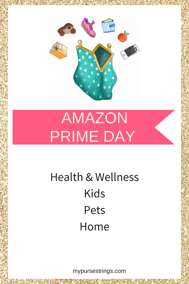I've found the best Amazon Prime Day electronics, health and wellness, toys, pet items. Follow me all day on the My Purse Strings Facebook Page for updates. #AmazonPrimeDay #fitness #parenting