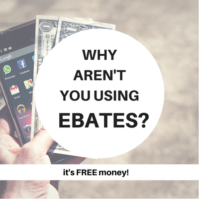 Why Aren't You Using Ebates?