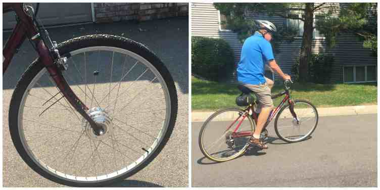 Hill Topper alternative electric bike kit