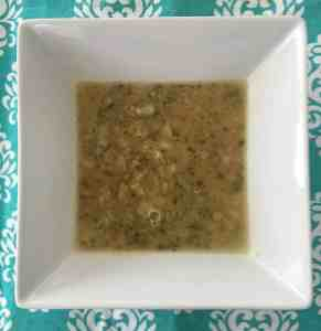 Broccoli and Hempeed Soup