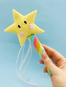 baguette magique patron gratuit crochet amigurumi