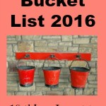 Blogging Bucket List 2016