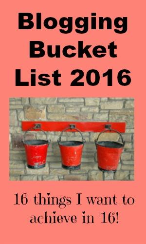 Blogging Bucket List