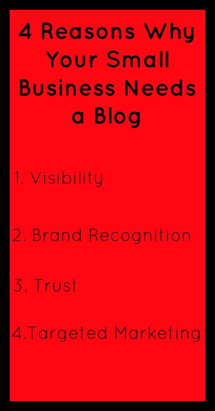 4 Reasons Why Your Small Business Needs a Blog