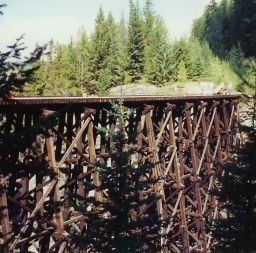 Trestle #7. A nice view of Trestle #7.