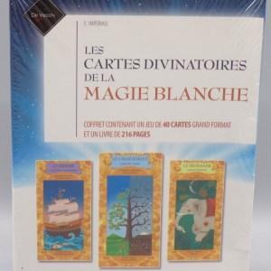 Coffret Cartes divinatoires de la Magie Blanche, 1ère de couverture