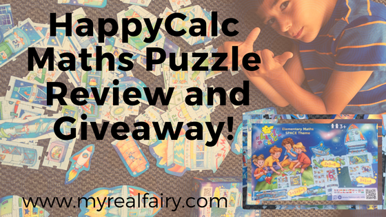 HappyCalc Maths Puzzle Review and Giveaway!