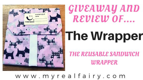 The Wrapper - The Reusable Sandwich Wrapper. Giveaway & Review