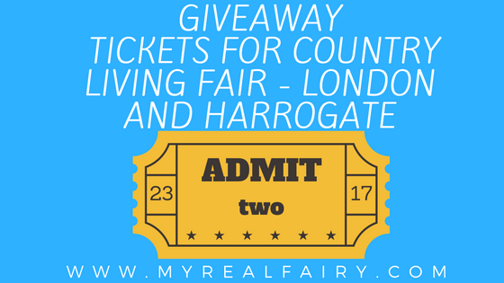 Giveaway Tickets for Country Living Magazine Fair – London and Harrogate
