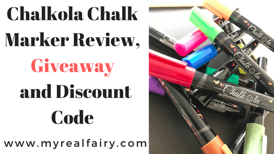 Chalkola Chalk Markers Giveaway, Review & Discount