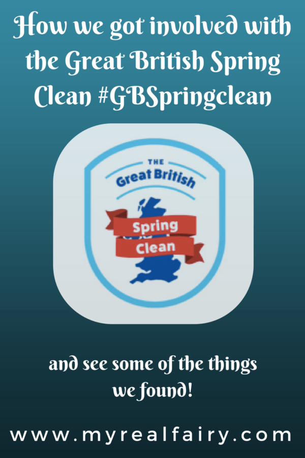 How we got involved with the Great British Spring Clean #GBSpringclean