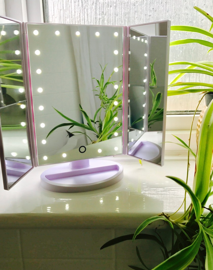 led light mirror www.myrealfairy.com