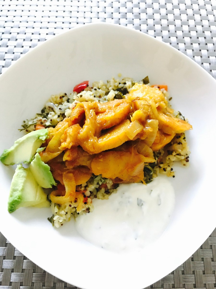Plantain and Mango Curry - Easy and Delicious