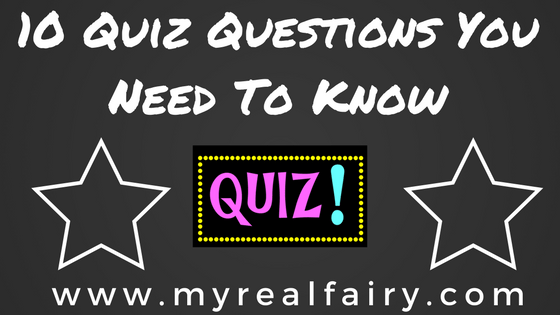 10 Quiz Questions You Need To Know