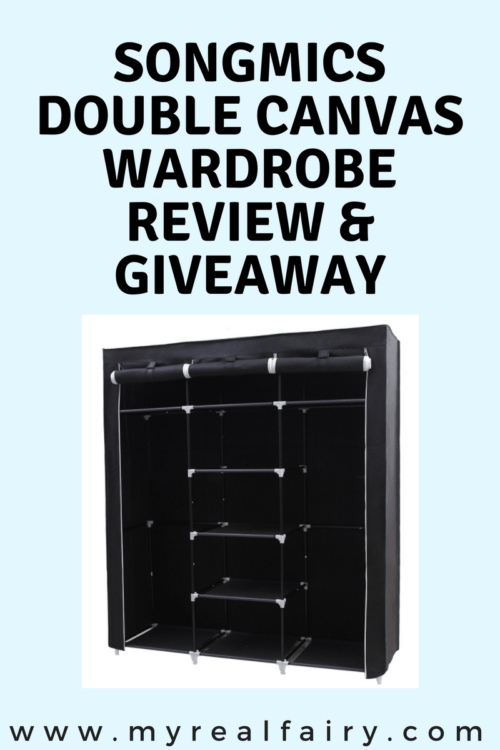 Songmics Double Canvas Wardrobe Review and Giveaway