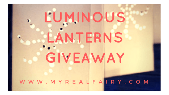 Halloween Luminous Lanterns Giveaway