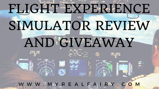 Flight Experience Simulator Review and Giveaway