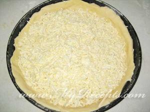 Второй лепешкой накрыть первую, с сыр