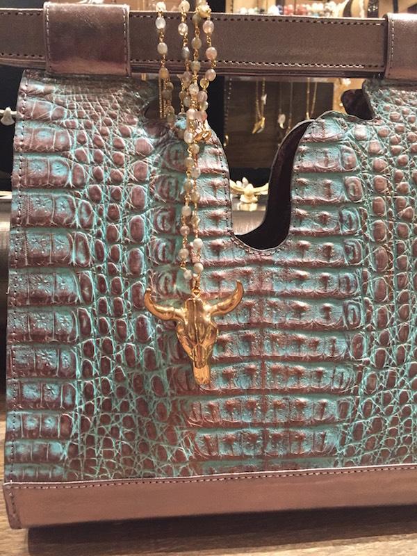 Julie Beth Crocco bag w:rodeo trinket