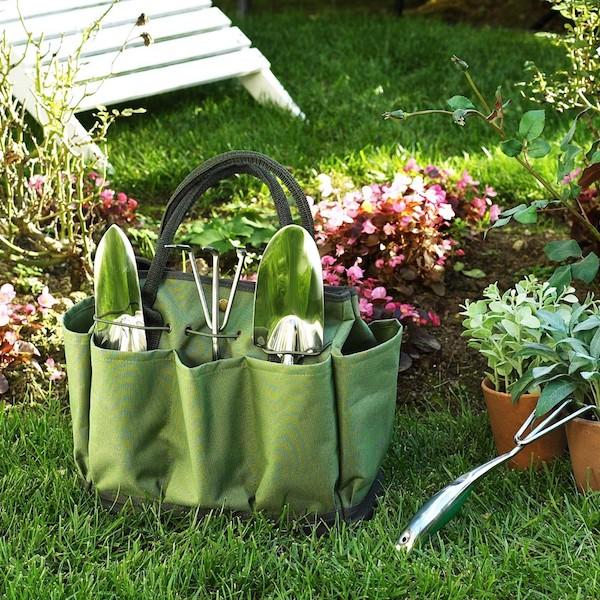 Garden Tote & Tool Set