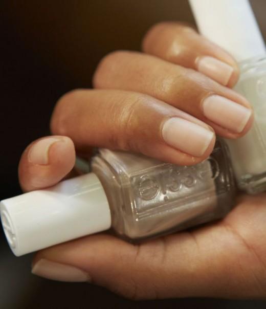 DKNY matte nails