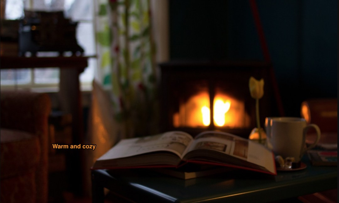 A fireside-even if only in the heart