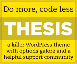 Thesis Theme for WordPress