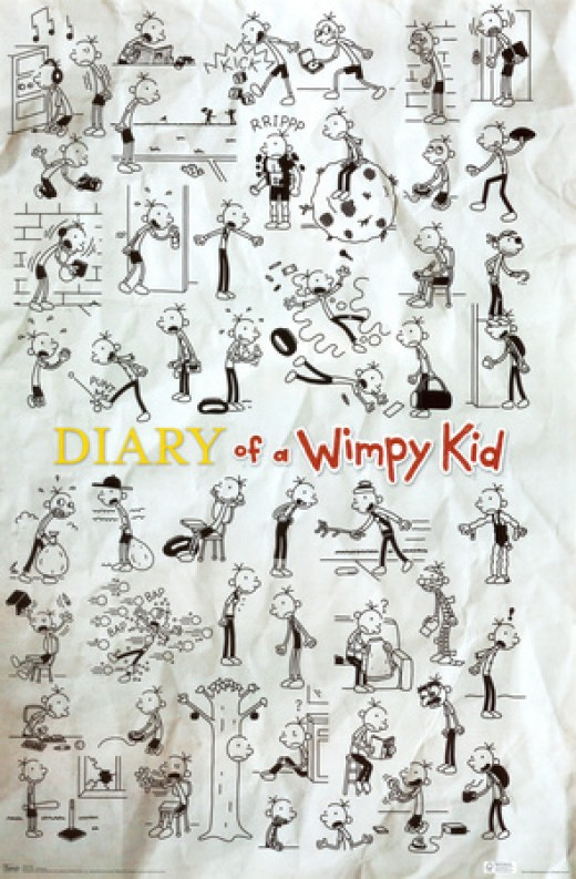 wimpy kid poster