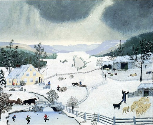 Enjoying Grandma Moses