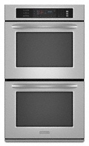 """KitchenAid Architect Series II KEBS277SSS.27"""" Double Electric Wall Oven"""