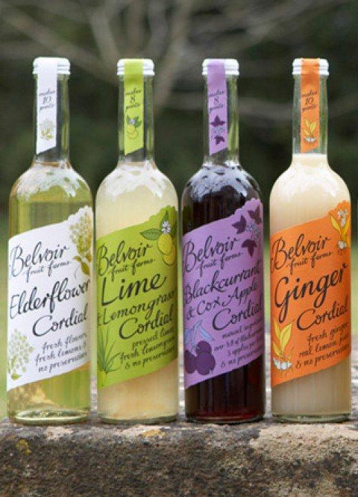 cordial bottles