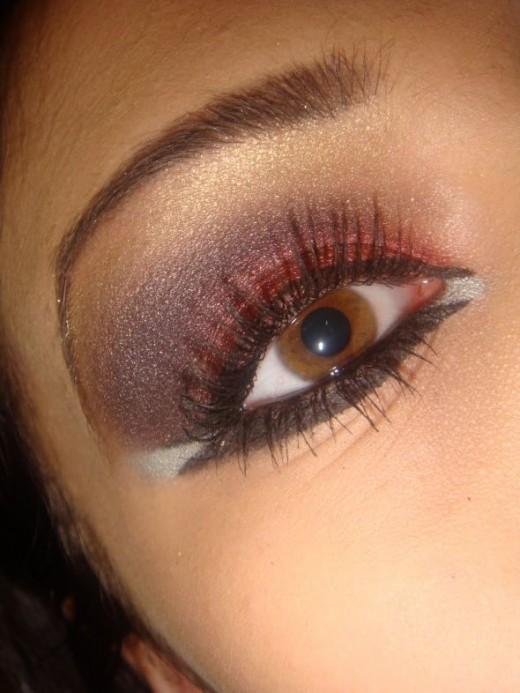 Arabic makeup for eyes
