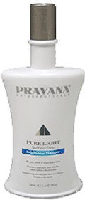 Pravana Pure Light Sulfate-free Brightening Shampoo for Blonde Silver or Highlighted Hair 10.1oz(300ml)