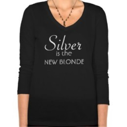 Silver is the new blonde! Make your declaration, Silver Fox.