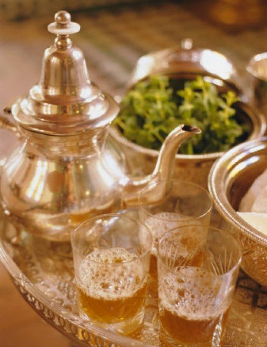 The Moroccan Tea Glass, Symbol Of Arabic Hospitality