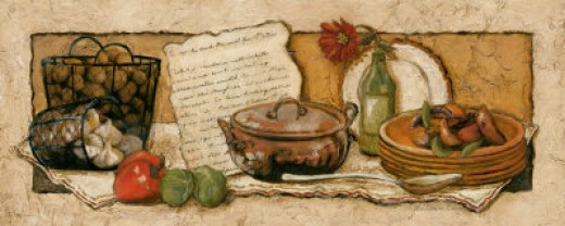 poster of cookbook