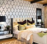 Wall Stencil Marrakech Trellis - Lg - Reusable stencils for DIY decor